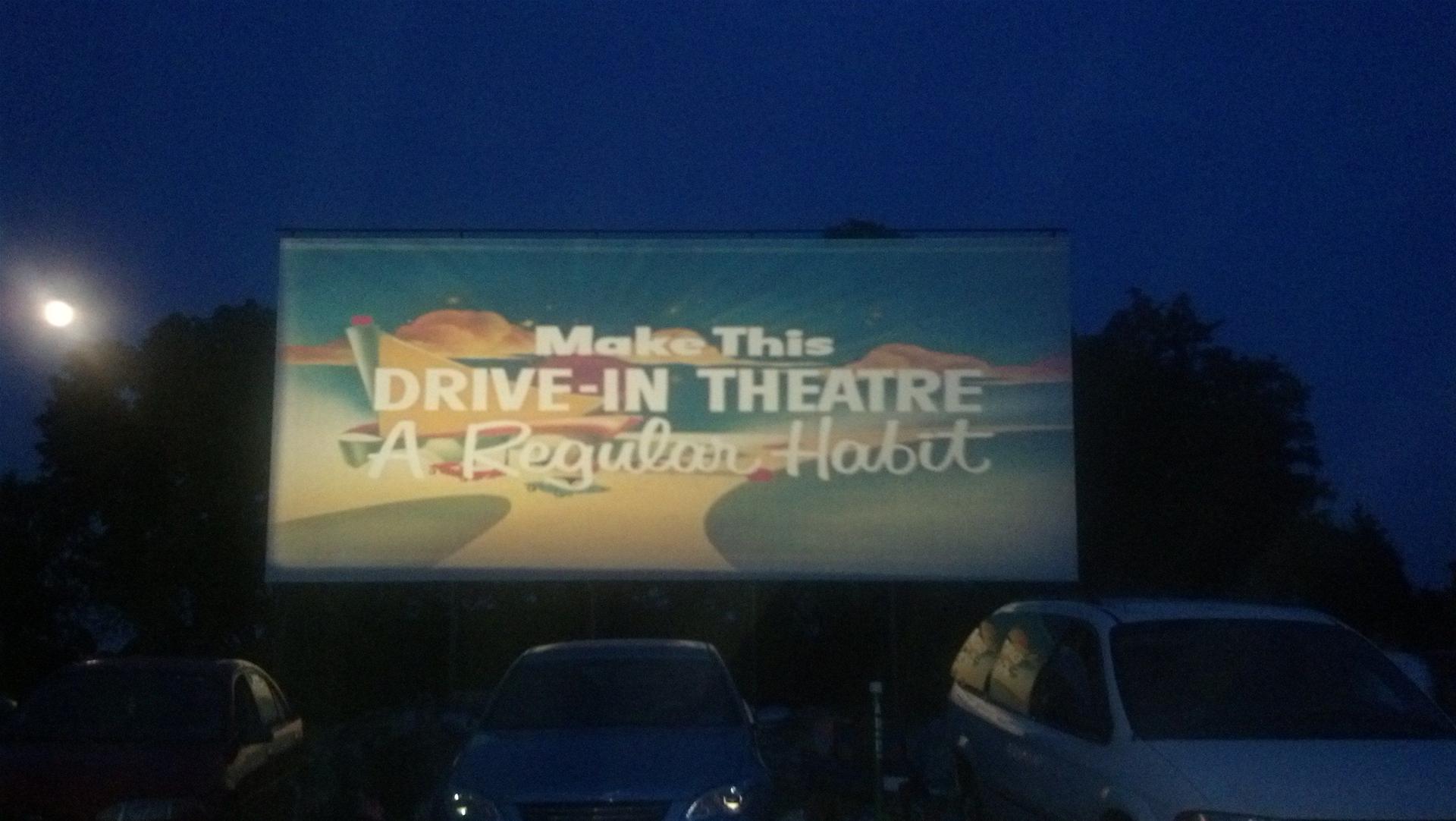 Drive in Theater Screen