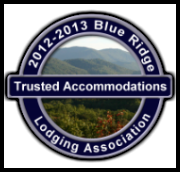 Blue Ridge Lodging Association Logo with link to their website