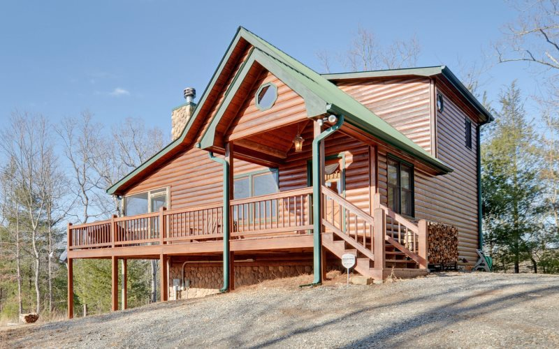 Floor Plan for Lazzzy Bear Valley - Aska Adventure Area & Walking Distance to Toccoa River - 10 Minutes from Blue Ridge