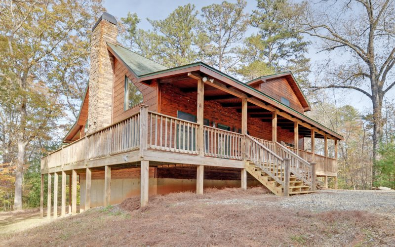 Floor Plan for LINWOOD LODGE - Private and Secluded Blue Ridge Cabin Rental only 5 Minutes from Downtown Blue Ridge