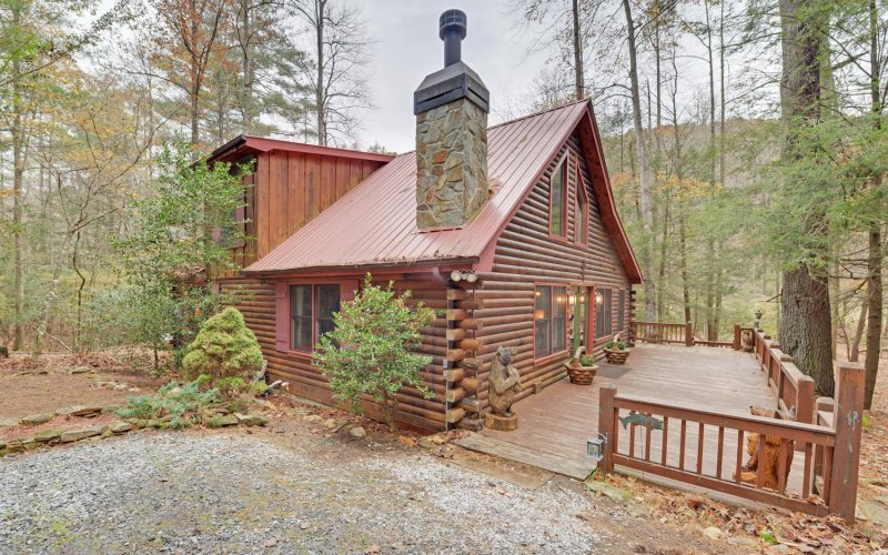rentals minutes from rental home cabin ga asp appalachian vacation oasis vacations cabins north escape mountain downtown blue ridge