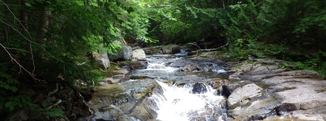 Blue Ridge Mountain Water Falls