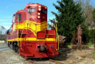 blue ridge scenic railway train