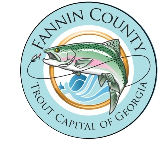 Fannin County Trout Capital of Georgia Logo